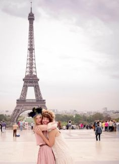 paris with your best friend //