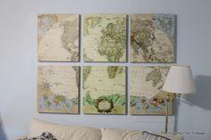 Family Room Evolution with MAPS and @worldmarket #worldmarket_hgtv