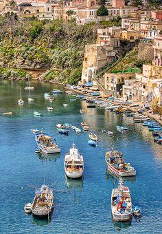 Marina di Corricella, Procida, Napoli, Italy