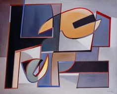 Alberto Magnelli, Absence of Hostilities No. 2, 1948