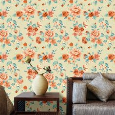 Adesivo de parede Tropical Flower
