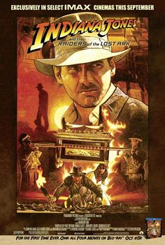 Raiders of the Lost Ark: Archeologist and adventurer Indiana Jones is hired by the US government to find the Ark of the Covenant before the Nazis.