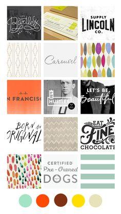 Eva Black Design | Blog: Recent Inspiration Boards