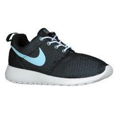 Nike Roshe Run - Women's - Black/Anthracite/Volt/Glacier Ice