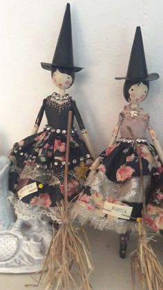 WITCH FAIRIES BY SAM MCKECHNIE OF THE MAGPIE AND THE WARDROBE