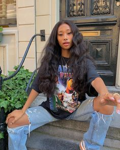date casual outfit Skater Girl Outfits, Tomboy Outfits, Cute Casual Outfits, Dope Outfits, Retro Outfits, Vintage Outfits, Summer Outfits, Look Hip Hop, Look Girl