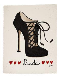 Griselda Sastrawinata: Pretty black bootie