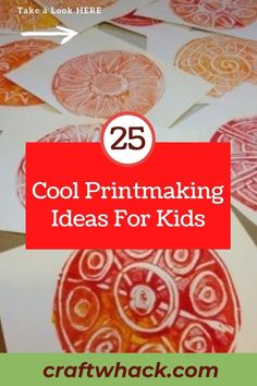 Printmaking is a diverse and creative artistic outlet. Craftwhack has put together a compilation of the many material options that are easily available for you to use. The creative process results in so many wonderful works of art. Children will love designing with all the different colors and textures every time. With more than 20 ways to create cool printmaking projects. So enjoy watching your kids explore this process and wanting more. Get the full details #printmaking #coolideas #kidsdesign Art Ideas For Teens, Art For Kids, Art Children, Printmaking Supplies, Printmaking Ideas, Doodle Art Journals, Easy Art Projects, Weird Art, Drawing Skills