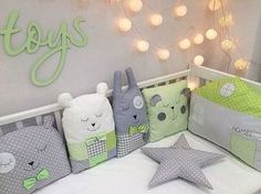 כריות לתינוק למיטה