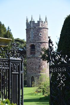 The Narnia of Bristol aka Goldney Hall features beautiful gardens with fountains, Victorian caves and towers.