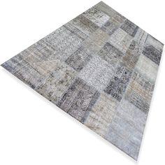 Grijs vintage vloerkleed ( 3,01 x 2,00 m )  N°212