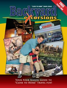 """""""Backyard Excursions Travel Ideas Regional Travel Guide"""" (2012-13 edition) is excellent for planning close-to-home day trips, weekend getaways and family vacations with travel ideas throughout the Great Lakes states."""