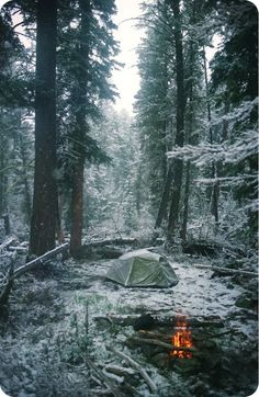 Maybe someday we'll be well-equipped enough for a winter camp!