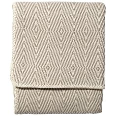 John Robshaw Textiles - Woven Cotton Throw - Clay - Woven Cotton - THROWS