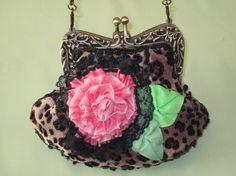Leopard Print Mini Bag~Cute, cute~~
