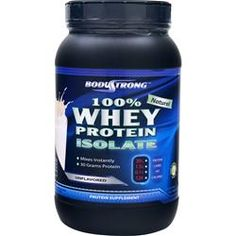 BODYSTRONG 100% Whey Protein Isolate - Natural Unflavored 2 lbs $24.59