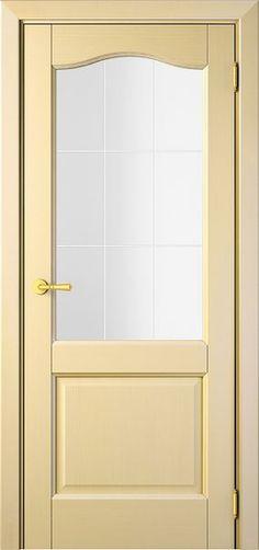 Sarto Interio NS 1224 Interior Door Wave Glass Vanilla Ash