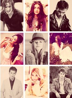 The amazing cast -  Pretty little liars would be nothing without you.!   You are why I love pretty little liars