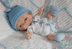 Jan Shackelford OOAK doll artist soft sculpture collectible preemie baby