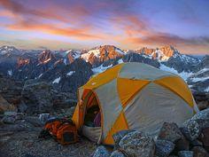 Morning at Sahale Glacier Camp by i8seattle, via Flickr