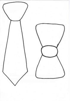 """tie template - goes great with the book: """"Mr. Tannen's Ties"""".  Let the kids create their own wacky tie."""