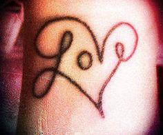 if I ever got a tattoo ...