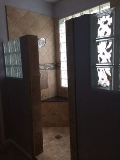 Bathroom Remodel Travertine Tan Brown Granite Grey Paint Grey Bathroom Black