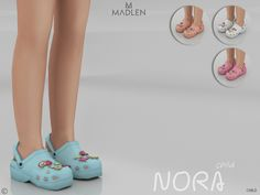 The Sims 4 Madlen Nora Shoes (Child) Toddler Cc Sims 4, Sims 4 Toddler Clothes, Sims 4 Teen, The Sims 4 Pc, Sims 4 Cc Kids Clothing, Sims 4 Mods Clothes, Toddler Hair Bows, Sims 4 Cc Eyes, Sims 4 Mm Cc