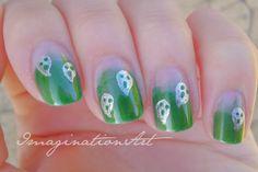 ImaginationArt - Halloween Nail Challenge: Ghost