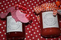 Erdbeerbananenmarmelade und Erdbeerketchup