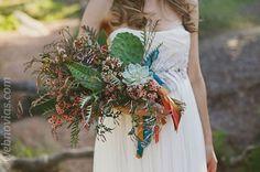 Ramo de novia: ¡No puedo llevar flores! www.webnovias.com/blog