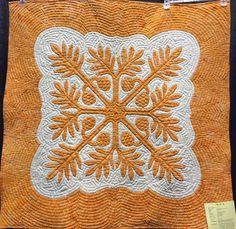 Breadfruit.  Pacific Rim Quilt Company Hawaiian Wall Quilt Pattern