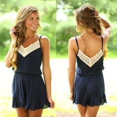 In The Shade Romper
