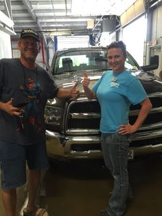 Michael and his BRAND NEW 2015 Ram 3500 Chassis!!!
