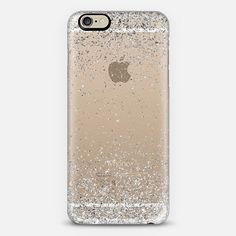 Silver Sparkly Glitter Burst iPhone 6 Case by Organic Saturation | Casetify. Get $10 off using code: 53ZPEA