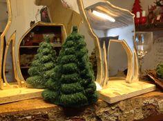 Strikkede juletræer...