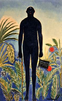bofransson:  Jack Johnson, also known as The Morning Walk Kees van Dongen, circa 1914