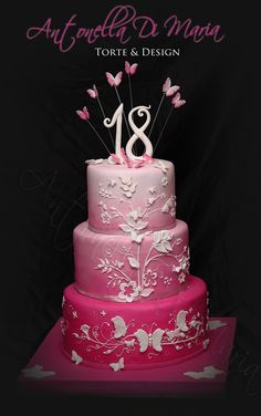 Antonella Di Maria TorteandDesign                  I wish i had this for my 18th! I would have loved it in purple!