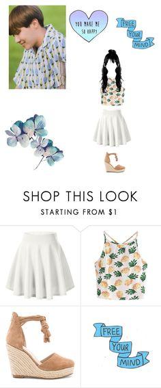 """""""I will always be your sunshine ☀️"""" by xxkatelynn-lacolexx ❤ liked on Polyvore featuring cutekawaii, WithChic and Raye"""