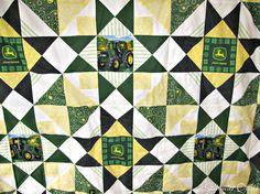 Saltwater Quilts: John Deere Tractor Quilt