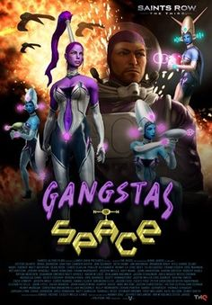 Saints Row: The Third Gangstas in Space (not up to the dlc yet, but it looks kick auussss bay-BEE! )