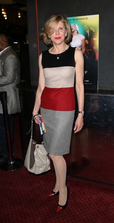 More Christine Baranski looking great.