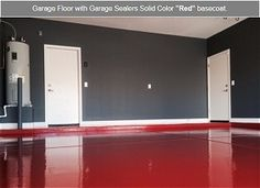 Garage Floor Paint   Epoxy Concrete Coatings   Residential epoxy concrete sealer