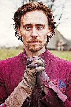 "Tom Hiddleston in the ""Hollow Crown"""