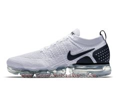 4e68ead8a6e Running Nike Vapormax Flyknit 2.0 Reverse Orca 942842 103 Chaussures Nike  Pas cher Pour HOmme Blanc