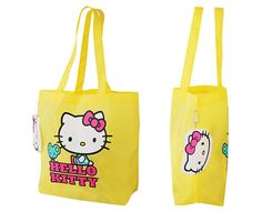 Oh my soul, there's a HELLO KITTY JUNKIE site....sign me up....yes I am a junkie, at 52, I carry a HK purse, and I have several of them....But I am really LUSTING after this Yellow HK bag...as well as most of the stuff on this site....well except for the hoodies, dont' need those so much where I'm from! ;) I'm an TRUELY a HK Dork! For real!! <3 But I embrace my Hello Kittyness!! I can ROCK some HK stuff! True Biz!!!