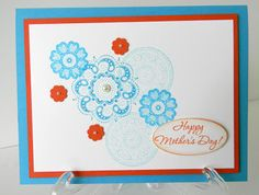 Debbies Creative Spot: Lacy and Lovely Mothers Day Card