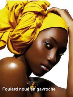 606b9704cb0d comment faire nouer les foulards en general - Google Search Foulard  Africain, Foulards, Beauté
