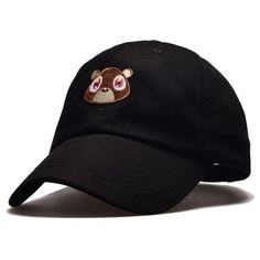 Embroidered Bear Hat (4 Colors)