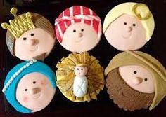 Resultado de imagen para cupcakes nacimientos navidad